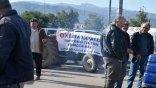 Παραμένουν στα μπλόκα και οι αγρότες της Κρήτης
