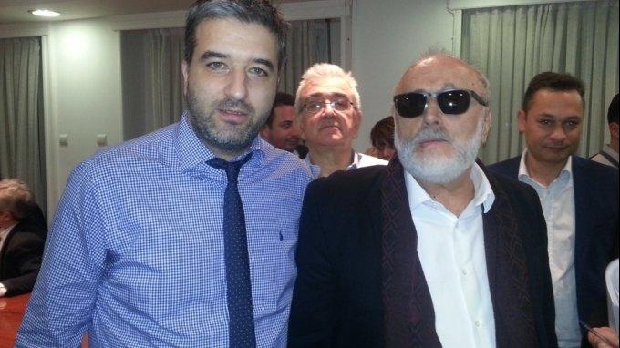 Παρών στη συνάντηση με τον Υπουργό ο γγ του δήμου Πλατανιά