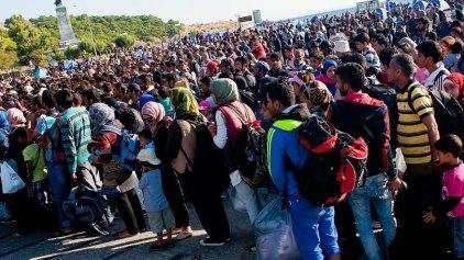Τουλάχιστον 10.000 οι μετανάστες που έμειναν στα νησιά λόγω της απεργίας
