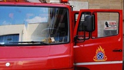 Αναστάτωση από φωτιά σε οβελιστήριο