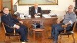 Συνάντηση Βάμβουκα με τον νέο Αστυνομικό Διευθυντή Χανίων