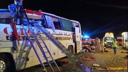 Ομάν: 18 νεκροί σε δυστύχημα με λεωφορείο
