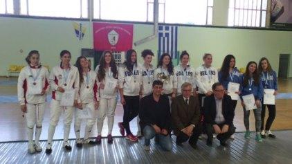 Επιτυχίες της Α.Λ.Ξ. Χανίων στο Πανελλήνιο πρωτάθλημα Νέων Ανδρών - Γυναικών