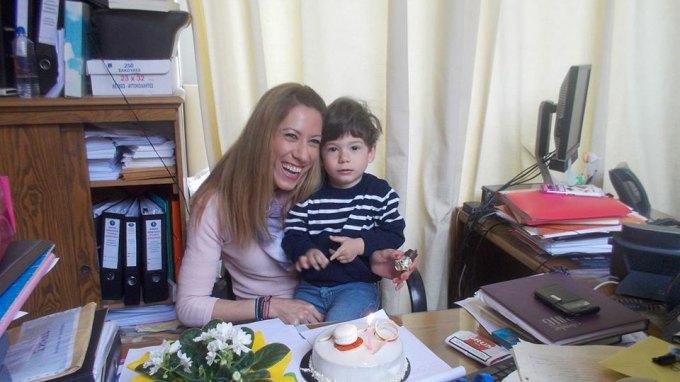 Τα πιο ... γλυκά γενέθλια για τη Στέλλα !