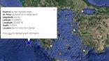 Σεισμός 5,2 Ρίχτερ νοτιοδυτικά της Ζακύνθου