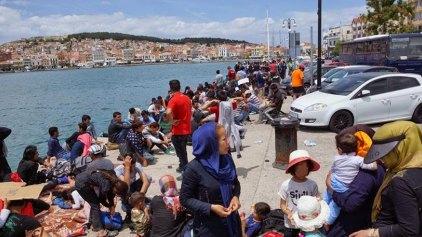 Μυτιλήνη: «Βουλιάζουν» τα hot spot από μετανάστες
