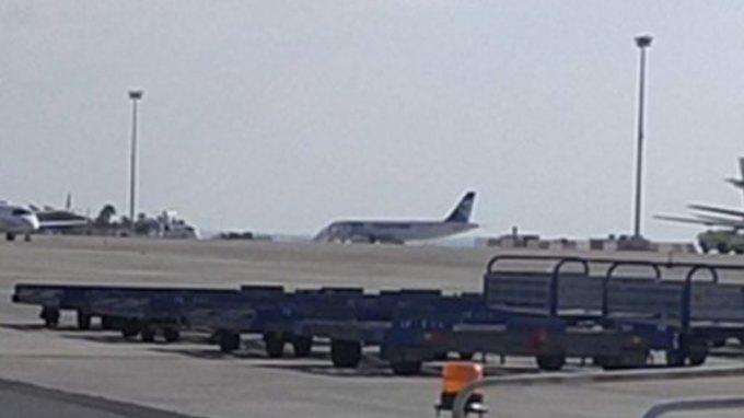 Αεροπειρατεία στη Λάρνακα: Η πρώτη φωτογραφία του αεροσκάφους της Εgypt Air