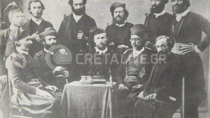 Κρήτες βουλευτές - αγωνιστές του 1868!