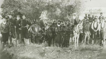 Ο Χατζημιχάλης και οι επαναστάτες της Κυδωνίας
