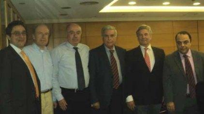 Συνάντηση εκπροσώπων του Ολλανδικού τραπεζικού ομίλου Rabobank με την Παγκρήτια Τράπεζα