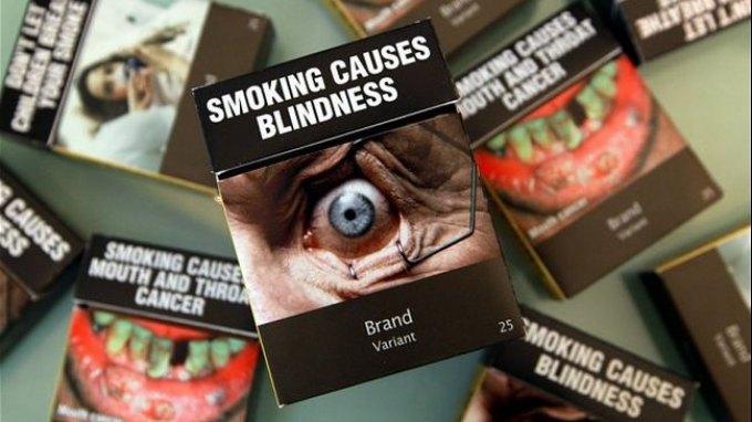 Ενιαία πακέτα τσιγάρων στην Αυστραλία