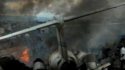 32 νεκροί από τη συντριβή αεροσκάφους στο Κονγκό