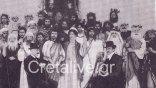 Μια θεατρική παράσταση του Γυμνασίου Ηρακλείου, το 1902, με τον Καζαντζάκη