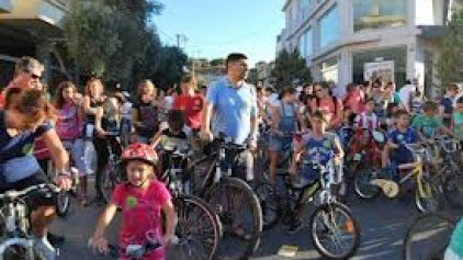 Ποδηλατοβόλτα την Κυριακή στο Ηράκλειο