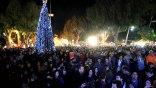 «Κοσμοπλημμύρα» στο κέντρο της πόλης για την υποδοχή της νέας χρονιάς