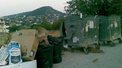 Μέσα τα σκουπίδια Κυριακή και Δευτέρα του Πάσχα