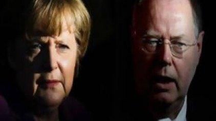 Απόψε το κρίσιμο debate Μέρκελ - Στάινμπρουκ