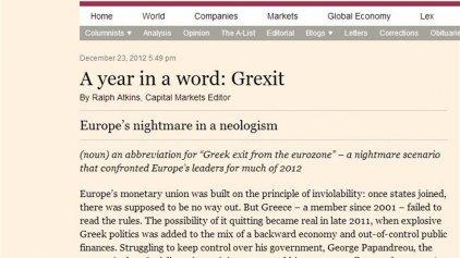 """""""Όλοι μιλούσαν για Grexit, αλλά λογάριαζαν χωρίς τον ξενοδόχο""""!"""