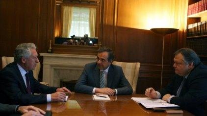 Οι επιστολές των πολιτικών αρχηγών για τις προκλήσεις του 2013