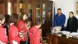 Κάλαντα στο Δήμο Φαιστού από μικρούς αθλητές