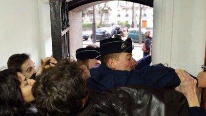 Κατάληψη στην πρεσβεία του Βατικανού στο Παρίσι