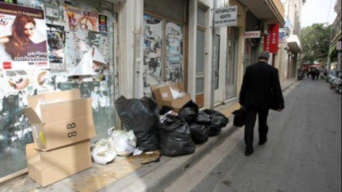 """Μας """"έπνιξαν"""" τα σκουπίδια!"""