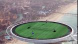Το υψηλότερο γήπεδο τένις!