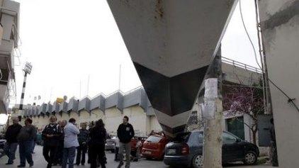 Εξώδικο στην ΠΑΕ ΟΦΗ για τις καταστροφές από την πτώση του πυλώνα