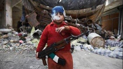 Συγκλονίζει ο 7χρονος στρατιώτης: Δεν έχω άλλη επιλογή!