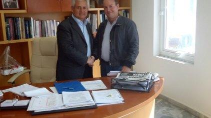 Η βιβλιοθήκη της τ. Διευθύντριας του Γαλλικού Ινστιτούτου στο δήμο Μαλεβιζίου
