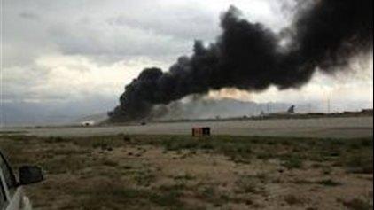 Σοκαριστικό βίντεο με πτώση επιβατικού αεροπλάνου στο Αφγανιστάν