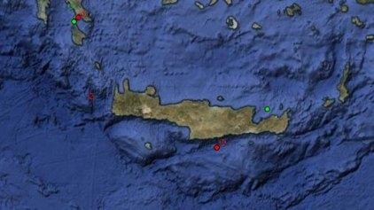 Πρωινό «ταρακούνημα» στην Κρήτη