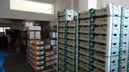 «Ανάσταση» για 600 οικογένειες - Διανομή τροφίμων από την Περιφέρεια Κρήτης