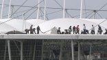 Κατέρρευσε οροφή γηπέδου που θα φιλοξενήσει ματς του Μουντιάλ!