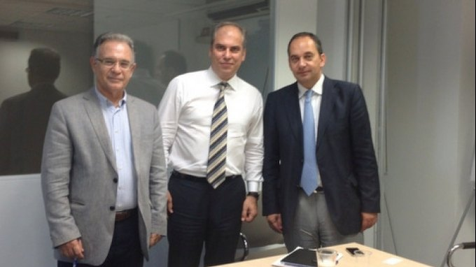 Συνάντηση με την διοίκηση του ΤΑΙΠΕΔ για την παραχώρηση ακινήτων στο Δήμο