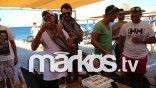 Ο Λάκης Γαβαλάς γιόρτασε την αποφυλάκιση με πάρτι