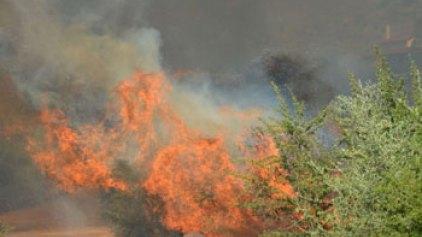Υψηλός παραμένει ο κίνδυνος πυρκαγιάς στην Κρήτη