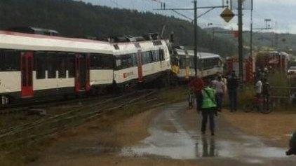 Νεκρός ο ένας μηχανοδηγός στην Ελβετία
