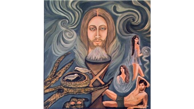 Με αρωγό τη Θεία έμπνευση,καταπλήσσει την Μεσόγειο, η ζωγράφος Ολυμπία Μπέη